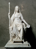 Portrait of Maria Louise of Habsburg As Concordia Photographic Print by Canova Antonio