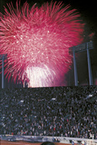 Fireworks of the Closing Ceremony of the Olympic Games Photographic Print
