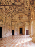 Galleria Dei Mesi in the Rustica (Ducal Palace Complex in Mantua) Photographic Print by Giulio Romano