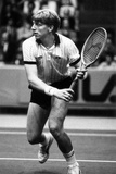 Boris Becker During a Match Photographic Print