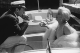 Tony Curtis and Marilyn Monroe in 'Some Like it Hot' Photographic Print
