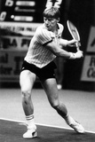 Boris Becker in Action on the Court Photographic Print