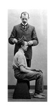 Anthropometric Examination to an Inmate Photographic Print