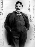 Enrico Caruso Wearing a Moustache Photographic Print