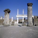 Basilica of Pompei Photographic Print