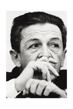 Enrico Berlinguer Smoking Photographic Print