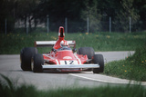 Clay Regazzoni on Board a Ferrari 312 B3-74 Photographic Print