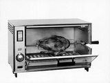 An Infra-Red Oven with Chicken on a Spit Photographic Print