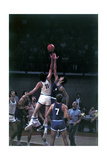 The Italian and Yugoslavian National Basketball Teams at the Olympic Games Photographic Print