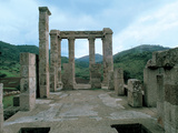 Punic-Roman Temple of Antas Photographic Print by  Unknown