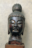 Head of Bodhisattva Photographic Print by  Japanese