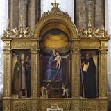 Frari Triptych Photographic Print by Giovanni Bellini