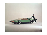 The Car Alfa Romeo 33 Bertone Carabo Photographic Print