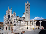 Cathedral, Siena Fotografisk tryk af Giovanni Pisano