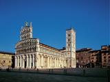 Church of San Michele in Foro, 1143, 12th Century, External Cladding in Marble Photographic Print by Unknown Artist