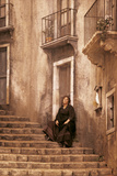 Elena Obraztsova on the La Scala Set of the 'Cavalleria Rusticana' Photographic Print