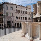 Piazza IV Novembre - Palazzo Dei Notari and Palazzo Baldelli Photographic Print by Unknown Artist
