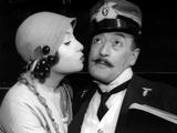 Toto and Marisa Merlini in the Film 'Destinazione Piovarolo' Photographic Print