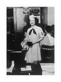 Graduated Woman of the US Navy Photographic Print