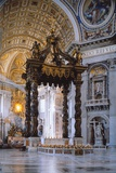 Canopy of Saint Peter in Vatican Prints by Gian Lorenzo Bernini