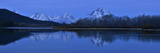 Oxbow Bend on the Snake River with Mount Moran in the Background at Dawn Fotografisk tryk af Raul Touzon