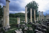 Tiberium Portico, 1st C. A.D. Aphrodisias, Turkey, Ruins of Main City Square Prints by Andrea Jemolo