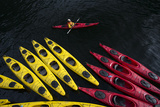 Sea Kayaking in the Inside Passage Photographic Print by Michael Melford