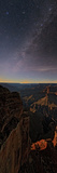 The Setting Moon Illuminates the Milky Way over the Grand Canyon Photographic Print by Babak Tafreshi