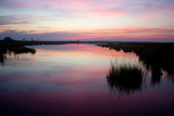 Chincoteague Bay Sunset, Taken from Assateague Island, Maryland Photographic Print by Vickie Lewis
