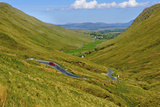 Winding Road Through Donegal in Ireland Photographic Print by Chris Hill