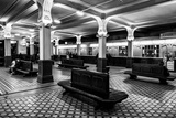 A Beautiful, Clean Waiting Room in the Vitebsky Railway Station Photographic Print by Jonathan Irish