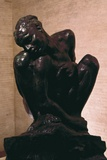 Crouching Woman Prints by Auguste Rodin