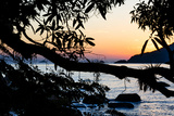 Sunrise over the Ilha Grande, an Island Located Off the Coast of Rio De Janeiro Photographic Print by Mattias Klum