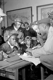 Tuskegee Airmen Group Archival Photo Poster Posters