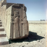Relief Sculptures of Persian Dignitaries Photo