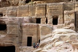 Necropolis at Petra, Jordan, 10th A.D. Burial Chambers Carved into the Rocks Photo by Andrea Jemolo