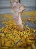 A Ballerina in Pointe Shoes Photographic Print by Kike Calvo