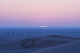 Sunrise over the Sand Dunes of the Rub' Al Khali, the Empty Quarter, Oman Photographic Print by Bill Hatcher