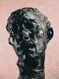 Monumental Head of Pierre De Wiessant Posters by Auguste Rodin