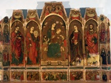 Polyptych with Virgin Enthroned with Saints Photo