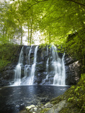 Glenariff Waterfall in County Antrim Photographic Print by Chris Hill