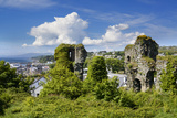 Ruins of Greencastle in Donegal Photographic Print by Chris Hill