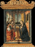 Annunciation of the Archangel Gabriel to The Virgin Prints by Vincenzo Civerchio