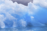 Close Detail of a Jagged Blue Iceberg Photographic Print by Ira Meyer
