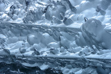 Close Up of the South Sawyer Glacier Photographic Print by Michael Melford