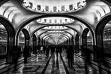 Jonathan Irish - Moscow Metro, Russia Fotografická reprodukce