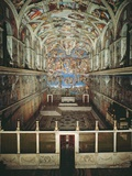 Sistine Chapel Ceiling and Last Judgment Photo af Michelangelo Buonarroti