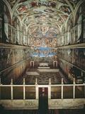 Sistine Chapel Ceiling and Last Judgment Photo af Michelangelo Buonarroti