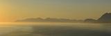 Miidnight Sunlight Illuminates a Fjord Fotografisk tryk af Raul Touzon