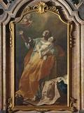 Saint Joseph and the Child, 1785 Print by Biagio Biagio